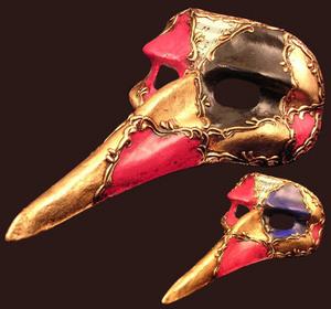 Fête du Carnaval - Bal de Fermeture Masque-de-venise-commedia-dell-arte-capitano-1468