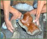 Artisans du bronze de Java