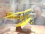 créateur maquette d'avion Pilot's Station