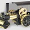 model steam engine mobile steam engine D366 - Steam Roller black/brass Wilesco 270.00 € vat incl.