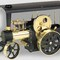 model steam engine mobile steam engine D406 - Steam Traction Engine black/brass Wilesco 245.00 &euro; vat incl.