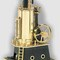 model steam engine stationary steam engine D456 - Locomobile Mobile Steam Engine  black / brass Wilesco 245.00 € vat incl.