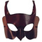 Venetian mask leather masks Diavolo Diavolo Blue Moon Mask 30.00 € vat incl.