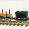 détail train miniature Loco Heidi, Kit Lutz Hielscher