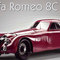 miniature car Alfa-Romeo 8C 2900 B Spec. Touring Coupè, 1938 CMC