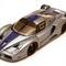 détail miniature de voiture Ferrari FXX 2005 Super Enzo bleu / gris Ilario