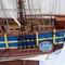 détail maquette de bateau, voilier, runabout HMS Bounty peint (coque 80 cm) Gia Nhien