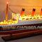 détail maquette de bateau, voilier, runabout Queen Mary - 100 cm avec lumières Gia Nhien