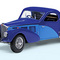 miniature car 1936 Bugatti Type 57SC Atalante - Limited Edition The Franklin Mint