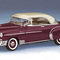 détail miniature de voiture Chevy Bel Air h/top 1950 The Franklin Mint