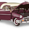 miniature de voiture Chevy Bel Air h/top 1950 The Franklin Mint