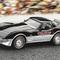 détail miniature de voiture Corvette Indy pace car 1978 The Franklin Mint