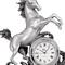 Horloge étain cheval HO 2 68.23 € ttc