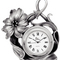 Horloge étain fleur HO 1 57.89 € ttc