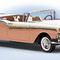 détail miniature de voiture Ford Skyliner 1957 The Franklin Mint