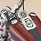 détail miniature de moto Harley Davidson Dyna wide glyde 2004 The Franklin Mint