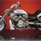 détail miniature de moto Harley Davidson V-rod The Franklin Mint