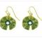 Earrings  Nympheas  29.00 € vat incl.