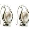 Lyre and pearl earrings 90.00 € vat incl.