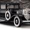 détail miniature de voiture Cadillac 1930 -Al Capone- The Franklin Mint