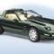 détail miniature de voiture Corvette zr1 1993 - vert The Franklin Mint