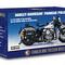 détail miniature de moto Harley Davidson Panhead 1903 -police- The Franklin Mint
