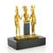 La triade D'Osorkon II (bronze) - 11 cm 1304.24 € ttc