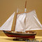 ship, sailboat, runabout model America 80 cm Gia Nhien