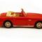 détail miniature de voiture Ferrari 166 Inter Cabriolet Bertone  1950 Rouge Ilario