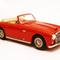 miniature car sport cabriolet Ferrari 166 Inter Cabriolet Bertone ch.057S 1950 red Ilario