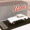 détail miniature de voiture Ferrari 212 Inter design par Vignale, Coupé 1952 Beige/blanc/gris Ilario