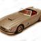 détail miniature de voiture Ferrari 250 GT LWB California 1959 Route Gris Ilario