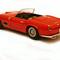 détail miniature de voiture Ferrari 250 GT LWB California 1959 Route Rouge Ilario