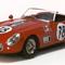 miniature car race Sebring Ferrari 250 GT LWB California 12h Sebring 1960 N°16 red Ilario