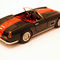 miniature de voiture Ferrari 250 GT LWB California Noir bande rouge Ilario