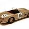 détail miniature de voiture Ferrari 250 GT LWB California N° 16 5e Le Mans 1959 Ilario