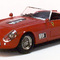 miniature de voiture course Nurburgring Ferrari 250 GT LWB California Nurburgring 1960 N°78 Rouge Ilario