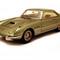 détail miniature de voiture Ferrari 400SA Superfast 3  2207SA Geneve 1962 Vert Ilario