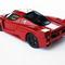détail miniature de voiture Ferrari FXX 2005 Super Enzo rouge Ilario