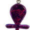 British Museum Ankh raspberry glass pendant 46 cm British Museum