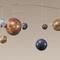 globe terrestre, céleste, astrolabe mobile Mobile Système Solaire Authentic Models -AM- 91.20 € ttc
