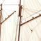 détail maquette de bateau, voilier, runabout America yacht - 60cm Premier Ship Models