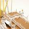 détail maquette de bateau, voilier, runabout Bergensfjord - 105cm Premier Ship Models