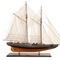 maquette de bateau, voilier, runabout grand voilier schooner Blue Nose II (ciré) - 75cm Premier Ship Models 751.20 € ttc