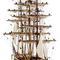 détail maquette de bateau, voilier, runabout Cutty Sark - 118 cm Premier Ship Models