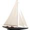 maquette de bateau, voilier, runabout grand voilier America Cup Velsheda Model Yacht - Gold - 58 cm Premier Ship Models 576.00 € ttc