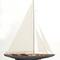 maquette de bateau, voilier, runabout grand voilier America Cup Velsheda Model Yacht - Platinum - 78 cm Premier Ship Models 1021.20 € ttc