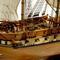 détail maquette de bateau, voilier, runabout USS Constellation - 104cm Premier Ship Models