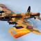 maquette d'avion bombardier quadrimoteur Avro Lancaster - RAF - 37 cm Pilot's Station