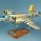maquette d'avion bombardier bimoteur North American B.25J Mitchell - USSAF - 45 cm Pilot's Station
